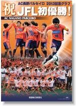 JFL初優勝! AC長野パルセイロ2013記念グラフ